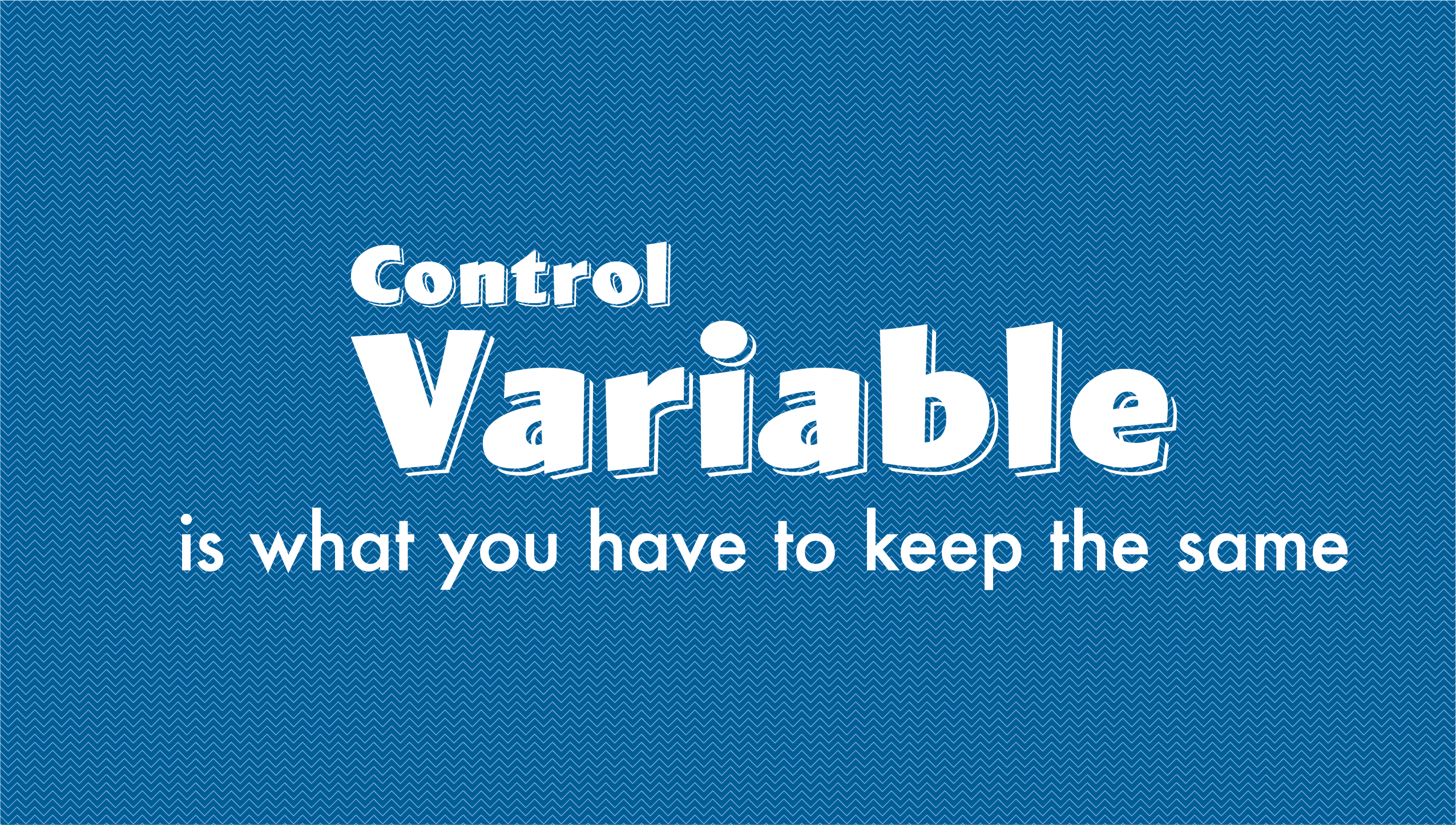 controlVariable